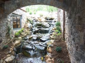water fall for the home bill house plans