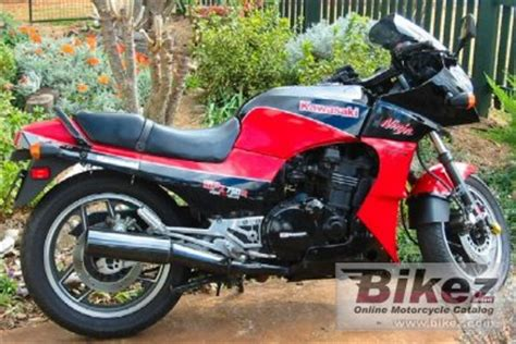 1986 kawasaki gpz 750 r specifications and pictures