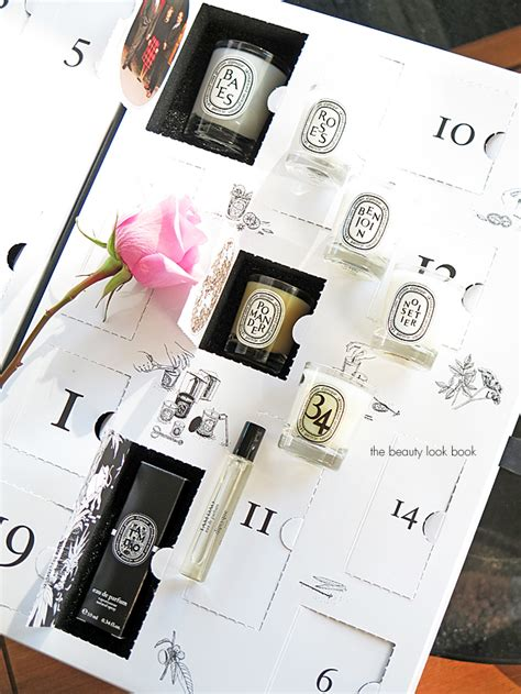 Do They Advent Calendars In Italy Diptyque Advent Calendar Reveal Part 3 The Look Book