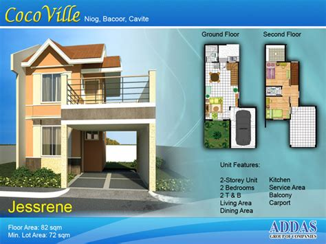 jessrene single attached house model cavite homes for sale