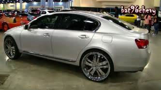 2006 lexus gs 300 on 24 quot forgiatos chrome wheels 1080p