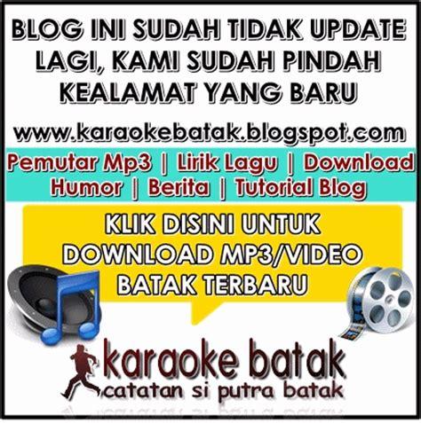 download mp3 instrumental barat koleksi lagu lagu batak terbaru karaokebatak blogspot com