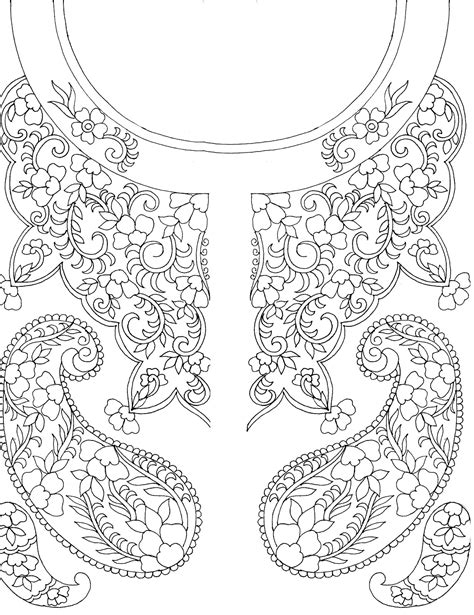 pattern design sketch embdesigntube embroidery sketches shared by sarika agarwal