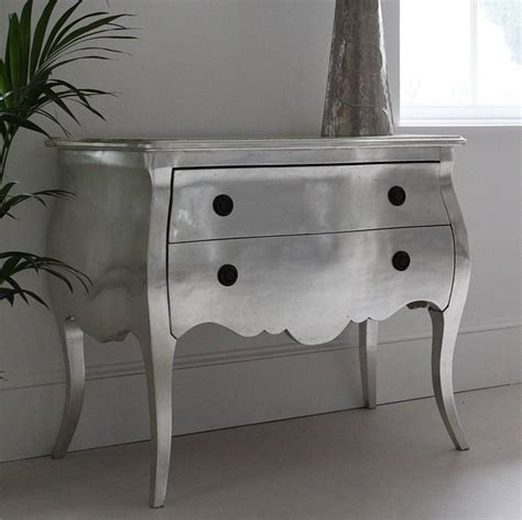 silver chest of drawers by out there interiors
