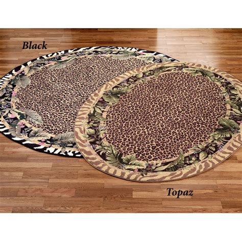 Jungle Safari Animal Print Area Rugs Animal Rugs