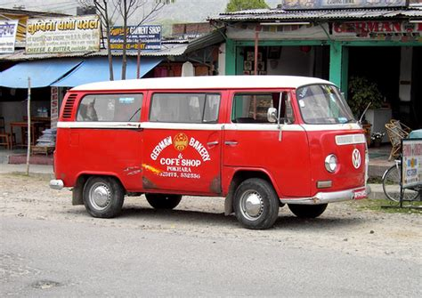 Volkswagen Vw T2 Bus In Pokhara Nepal Flickr Photo