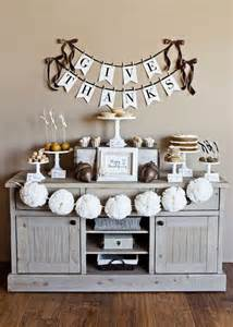 Thanksgiving Home Decorations by Black And White Thanksgiving Decor Ideas