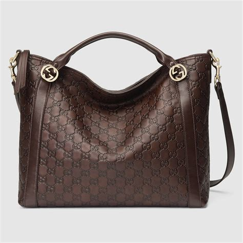 10 Gucci Handbags by Lyst Gucci Handbag With Removable Shoulder In Brown