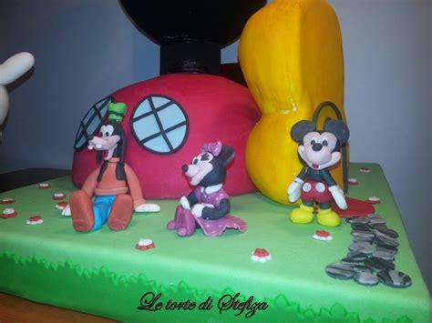 la casa di topolino you la casa di topolino torte decorate in pasta di zucchero