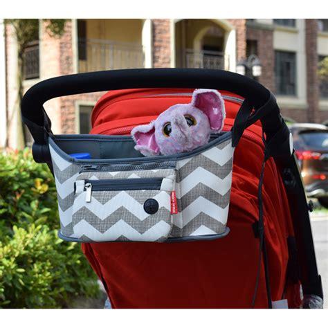 Kereta Dorong Bayi Creative tas perlengkapan stroller kereta dorong bayi gray white