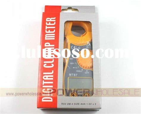 Tang Er Digital Mt87 400a digital cl meter 266 series for sale price china