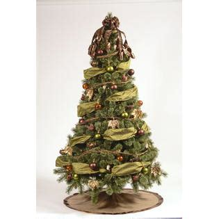 complete christmas tree trimming kit 80 pc golden radiance theme complete tree decorating kit kmart