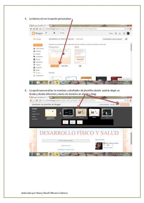 tutorial editar blogger olivarez nancy tutorial editar blog