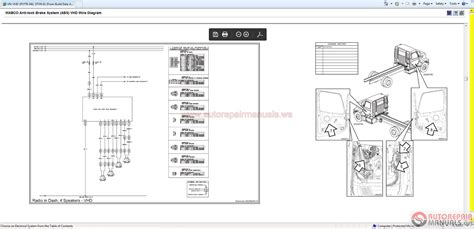 volvo vhd truck wiring diagram c15 acert engine diagram