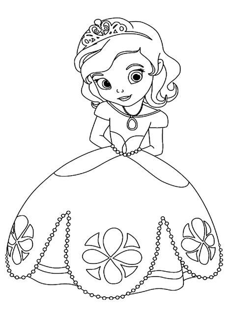 imagenes para pintar sofia dibujos para colorear la princesa sof 237 a