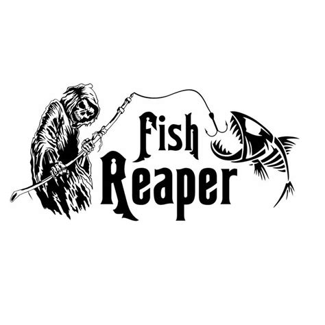 Fish Reaper Stickers popular fish reaper sticker buy cheap fish reaper sticker