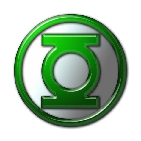 Clasic 05 D Green 10 5 green lantern corps insignia classic by superman3d on