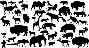 Animal Silhouettes Templates by Animal Silhouettes New Calendar Template Site