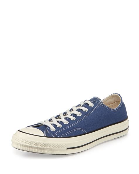 chuck sneaker converse all chuck 70 low top sneaker in blue for