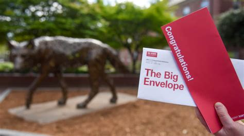Acceptance Letter Nc State students nc state