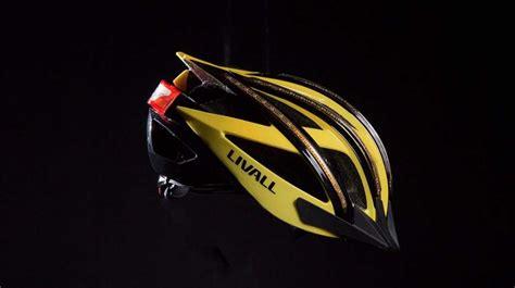 light up bike helmet livall light up bike helmet doubles as a walkie talkie