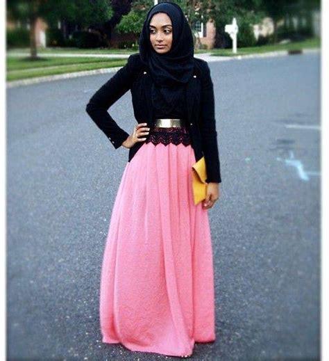 Dress Muslim Zaura skirt 24 modest ways to wear with skirts