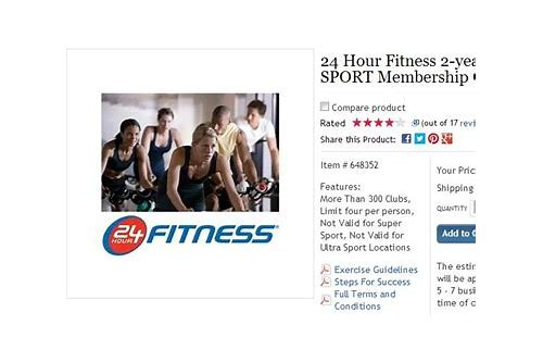 deals for 24 hour fitness