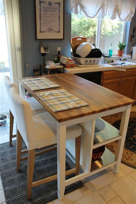 ikea stenstorp kitchen island   seating space