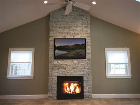 fireplace projects with thin veneer