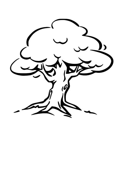 tree clipart black and white new pictures of black and white trees clipart best home