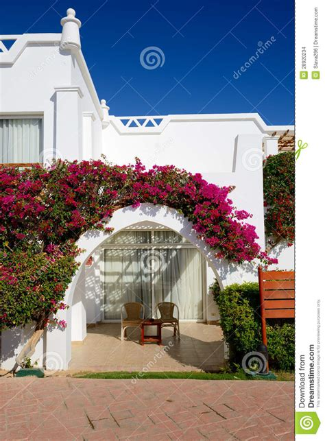 villa decoration villa decoration at the luxury hotel stock images image 28920234