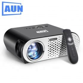 Proyektor Mini Led 60 Lumens 480p With Tv Receiver Murah proyektor mini lcd 1080p 600 lumens yg310 white