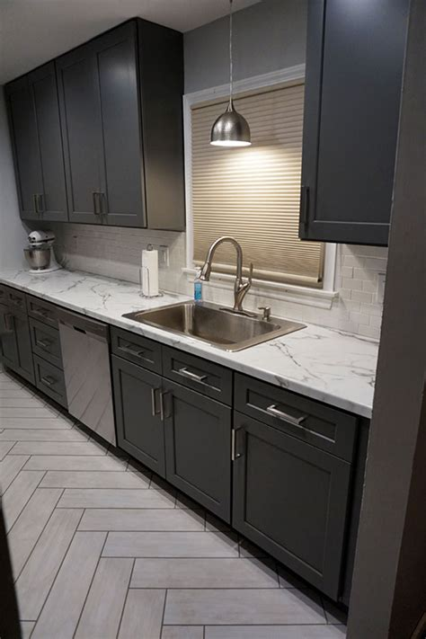 shaker kitchen cabinets online buy shaker gray rta ready to assemble kitchen cabinets