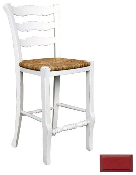 country ladder back counter stool country