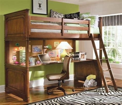 Bunk Bed With Office Underneath 17 Best Images About Loft Bed With Desk Underneath On Pinterest Built In Bunks Small Rooms