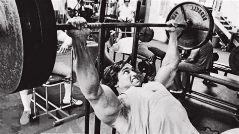 schwarzenegger bench press arnold schwarzenegger on training heavy flex online