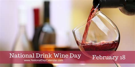 Can I Drink While Taking Stinger 7 Day Detox by National Drink Wine Day February 18 National Day Calendar