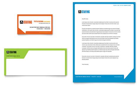 staffing recruitment agency brochure template design