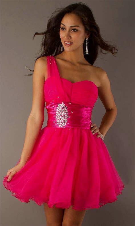 pink cocktail pink cheap prom dresses eligent prom dresses