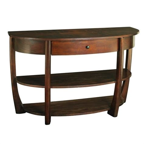 Hammary Concierge Sofa Table In Brown T3001889 00 Hammary Sofa Table