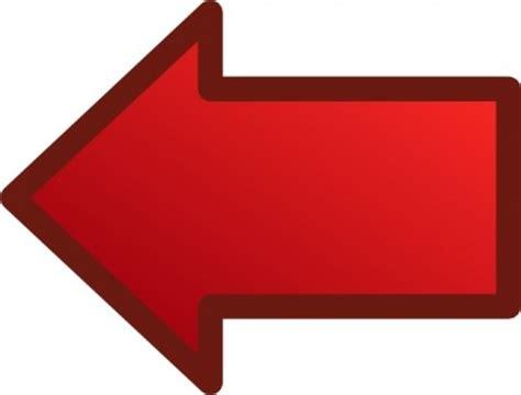 imagenes de flechas rojas set de flechas rojas izquierdo clip art vector clip art