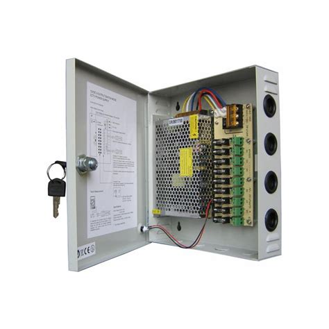 Power Supply 12v 10a Box cctv centralized power supply gd ps12 10a sense