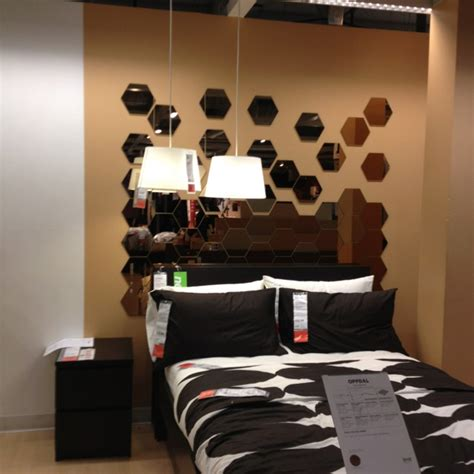 mirrors as headboards mirror headboard by ikea crafty pinterest command