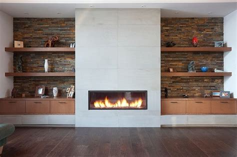 modern fireplace wall interior design