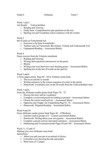 Afrikaans Stories Homework Example September 2019 1330