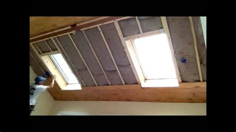 Installing Wood Planks On Ceiling