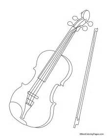violin coloring pages violin for coloring