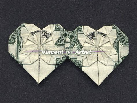 Money Origami With Quarter - beautiful money origami pieces many designs made of