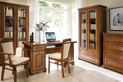 Natalia Brw Home Office Library Furniture Set Polish Home Office Library Furniture