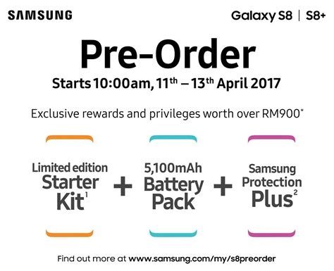 On Order May 8 by Samsung Galaxy S8 Priced From Rm3 299 In Malaysia Retails